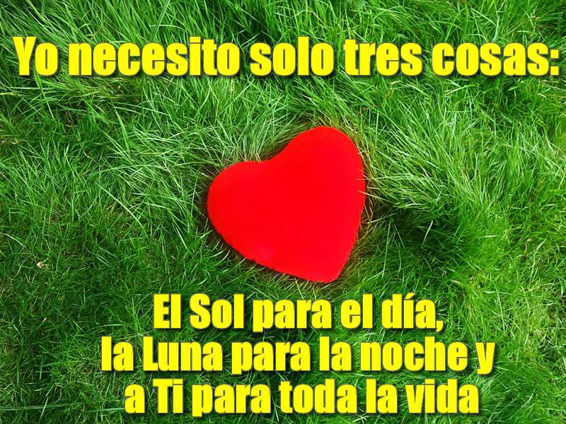 Foto de Amor con corazón para compartir